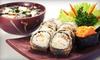 Up to 62% Off Japanese Meal at Kushibar