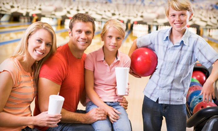 Collins Bowling Center - Multiple Locations: Bowling Package for Up to 6 or a Bowling Party for Up to 24 at Collins Bowling Centers (Up to 60% Off)
