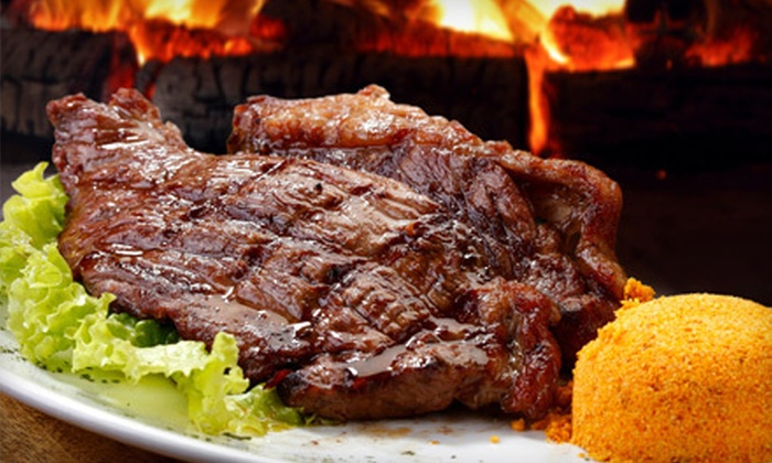 Samba Loca Brazilian Steakhouse - Carrollton: Steaks and South American Cuisine at Samba Loca Brazilian Steakhouse (Up to 56% Off). Two Options Available.