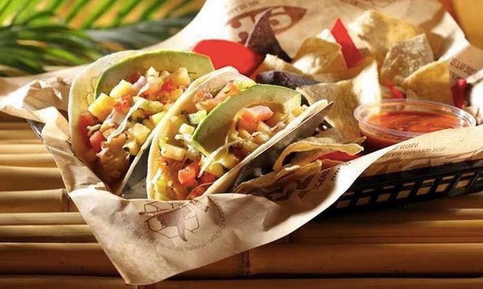 Shaka Burrito - Shaka Burrito: Surf-Inspired Cuisine for Dine-In or Carryout at Shaka Burrito (50% Off)