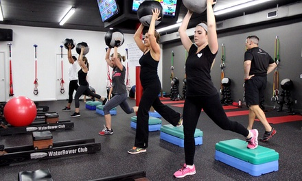 4 or 8 Fitness Classes for Women with Weight-Loss Guide at Red Zone Fitness (Up to 51% Off)