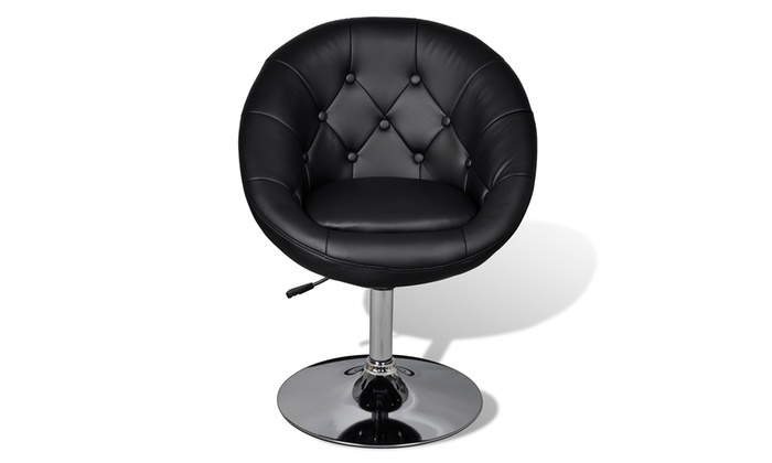 fauteuil capitonn pied tulipe groupon shopping. Black Bedroom Furniture Sets. Home Design Ideas
