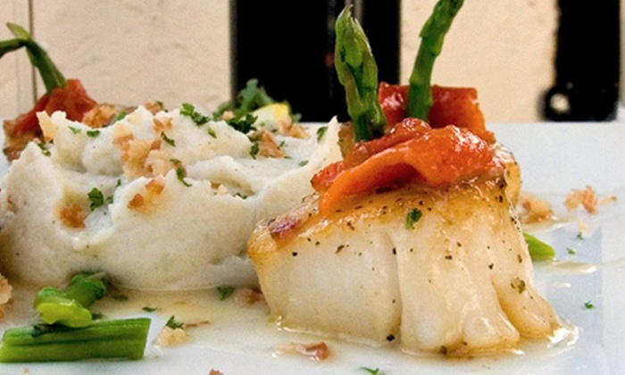 Caffé Azzurri - Hartsdale: New American-Italian Dinner for Two or Four at Caffé Azzurri (Up to 52% Off). Four Options Available.