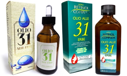 Olio 31 in 2 tipologie