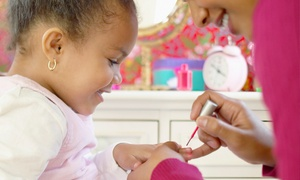 Glitzy Pritzy: Kid's Spa Package for One, Two, or Four at Glitzy Pritzy (Up to 70% Off)