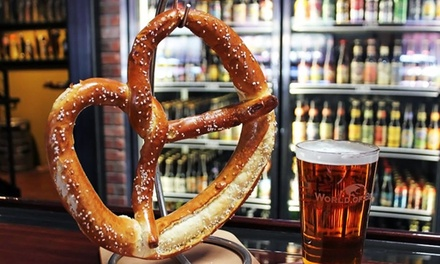 Tavern Food for Two or Four at World of Beer (Up to 44% Off)