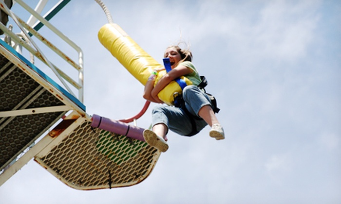 Mt. Hood Skibowl - Mount Hood: $27.50 for a Free-Fall Bungee Jump at Mt. Hood Adventure Park ($55 Value)