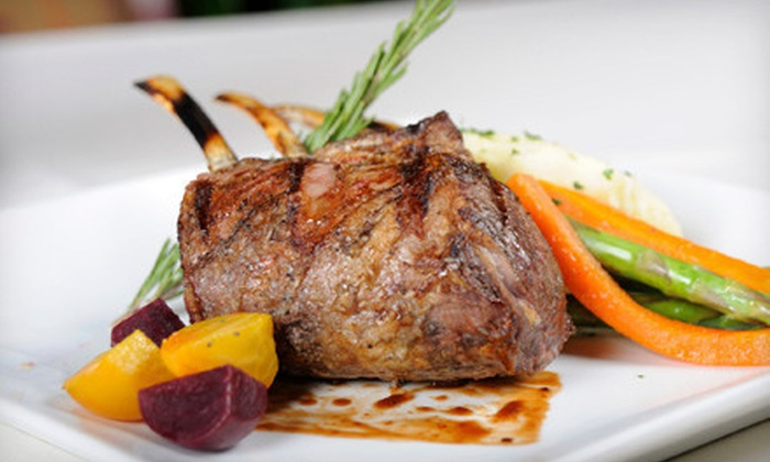 La Cote Basque - Gulfport: Continental Dinner Cuisine and Drinks for Two or Four at La Cote Basque (Up to 53% Off)