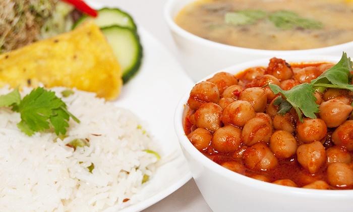 Govinda's Restaurant - Yorkville: Vegetarian Indian Buffet for Two or Four at Govinda's (Up to 41% Off)