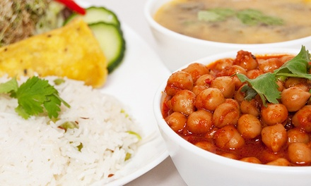 Vegetarian Indian Buffet for Two or Four at Govinda's (Up to 41% Off)