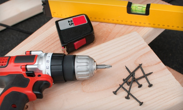 Adams SiF Car Construction Group, LLC - Charlotte: Two, Four, or Eight Hours of Handyman Services from Adams Sif Car Construction Group, LLC (Up to 70% Off)