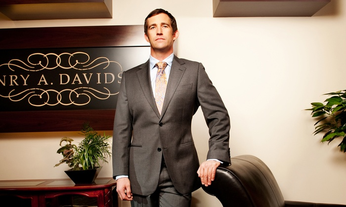 Henry A. Davidsen - Rittenhouse: Black- or Gold-Label Suit Package or Two Custom Shirts at Henry A. Davidsen (Up to 52% Off)