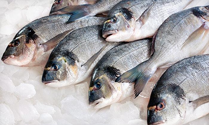 Santa Monica Seafood Company - Costa Mesa: $15 for $30 Worth of Fresh Fish and Market Goods at Santa Monica Seafood Company
