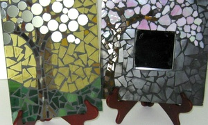 BonTon Designs: BYOB Mosaic or Stained-Glass Mosaic Class for One, Two, or Four at BonTon Designs (Up to 65% Off)