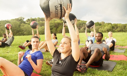 $75 for a Camp Gladiator Total Transformation Package ($500 Value)