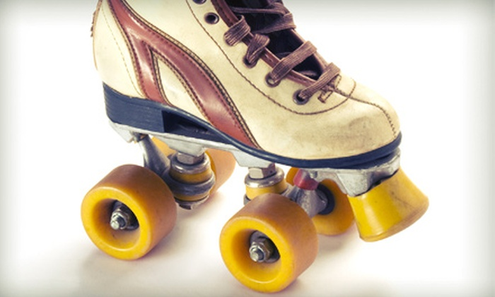 Galaxy Skateway - Multiple Locations: Weekend Roller Skating for Two or Four at Galaxy Skateway (Up to Half Off)