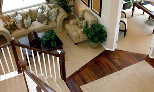 Eco Clean Northwest: Carpet Cleaning or Hardwood Floor Cleaning and Polishing from Eco Clean Northwest (Up to 63% Off)