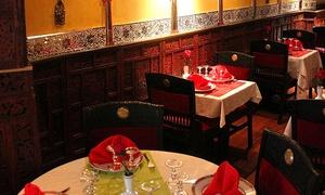 Le Sari, 19ème: Repas indien avec entrée, plat et dessert avec kirs en option pour 2 dès 15,90 € au restaurant Le Sari