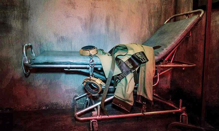 Insane Asylum or Bunker Live Escape Game for Four or Six at PanIQ ​Room Hollywood (Up to 44% Off)