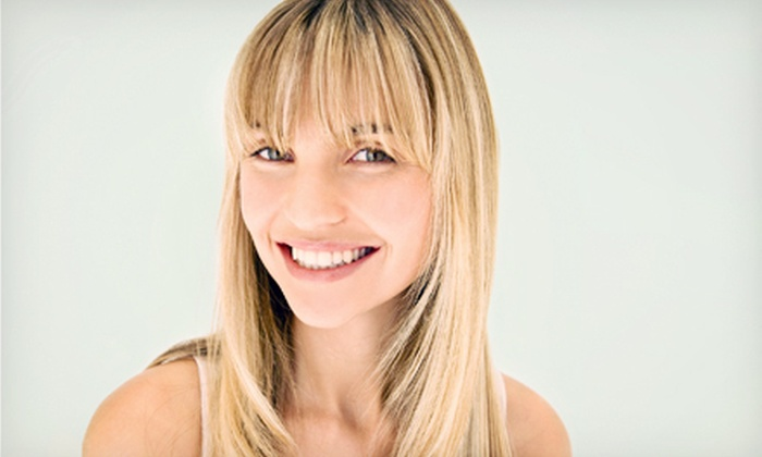 Hair Designs by Toni - Huntersville: Haircut with Optional All-Over Color or Partial Highlights, or Keratin Treatment at Hair Designs by Toni (Up to 62% Off)