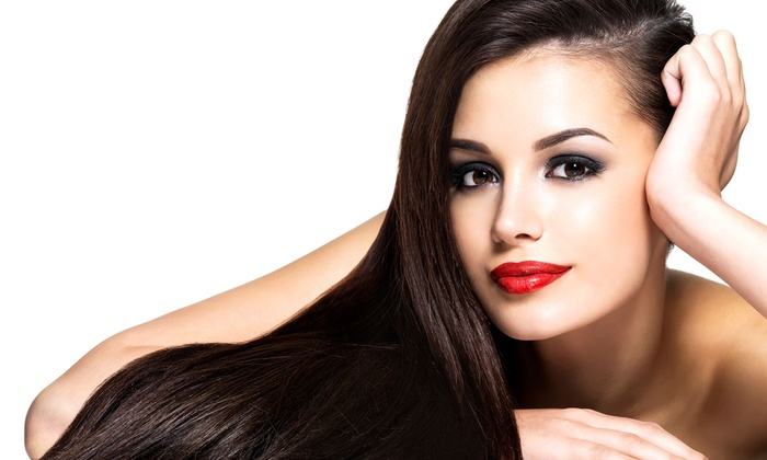 Desiree Hill at Delaney Salon Suites - Mansfield: Brazilian Blowout with Option for Haircut or Haircut and Highlights at Delaney Salon Suites (Up to 70% Off)