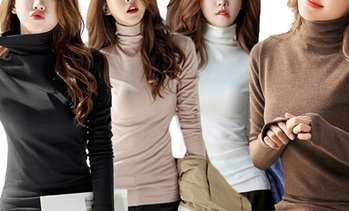 Women's Turtleneck Top