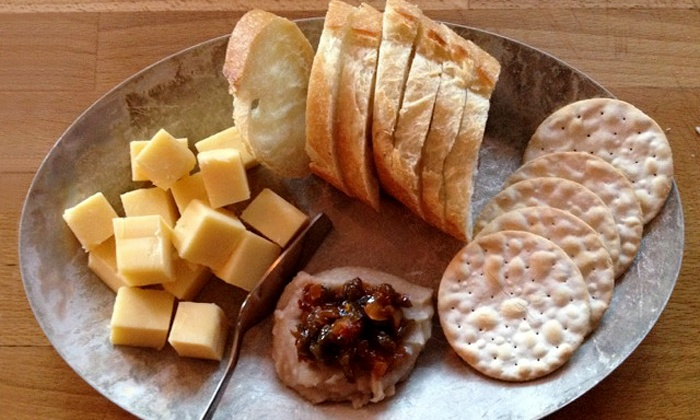 MJ's Wine Bar - Portland: $17 for $31 Worth of Cheese and Small Plates at MJ's Wine Bar