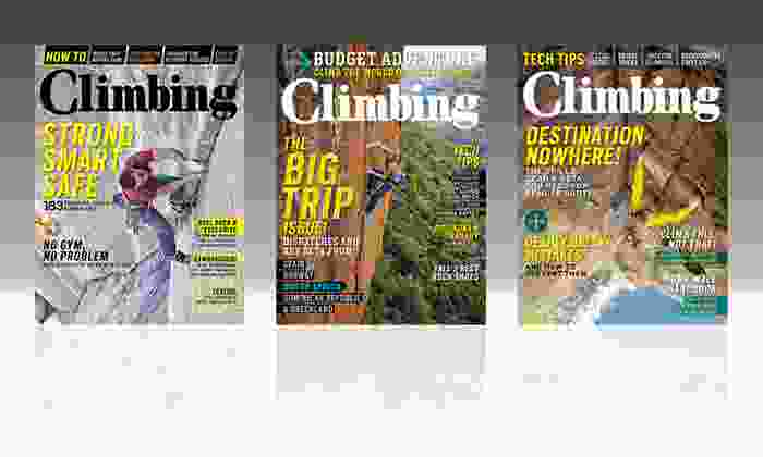 Climbing Magazine Subscription: 1-Year, 10-Issue Subscription to Climbing Magazine