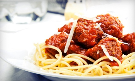 $16 Groupon for Hearty Italian and American Fare For Two - Spaghetti and Company in