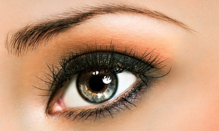 Eyelash Perms, Tinting, and Brow Waxing Services at Maela's Esthetics (Up to 54% Off). Three Options Available.