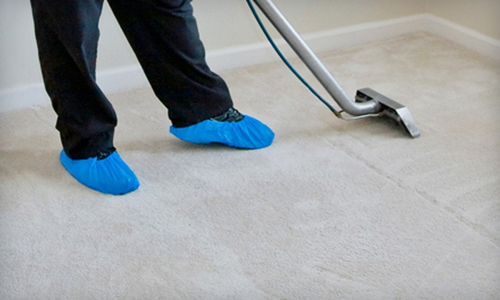 Eco Carpet Cleaning - Littleton: Whole-House Carpet Cleaning with Optional Steam-Dry Treatment from Eco Carpet Cleaning (Half Off)