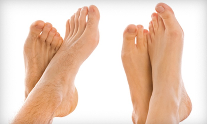 Chicago Foot Clinics - Little Village: Laser Toenail-Fungus Removal for One or Both Feet at Chicago Foot Clinics (Up to 63% Off)