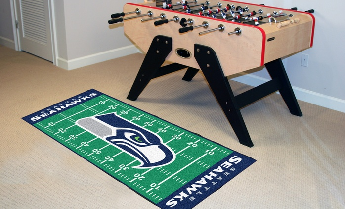 """NFL 30""""x72"""" Field Mats"""