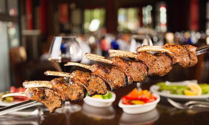 Facón Brazilian Steakhouse - Northwest Harris: Dinner with Shared Desserts or Lunch for Two or Four at Facón Brazilian Steakhouse (Up to 50% Off)