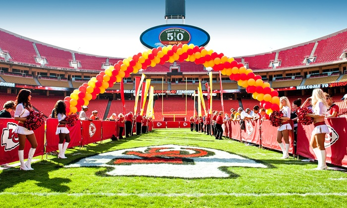 Chiefs 5K Run - Arrowhead Stadium: One, Two, or Four Entries for Chiefs 5K Run on Saturday, May 10 (Up to 50% Off)