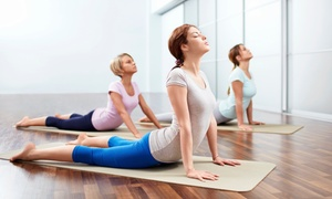 Inhale Exhale Studio: Yoga, Barre, RealRyder, or Pilates Classes at Inhale Exhale Studio (Up to 67% Off). Five Options Available.