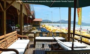 Bar e Restaurante Vereda Tropical: Vereda Tropical – Barra da Lagoa: peixe assado na brasa + acompanhamentos para 2 ou 4 pessoas