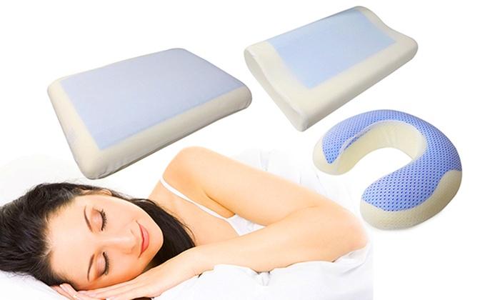 Cooling Gel Tech Pillow Groupon Goods