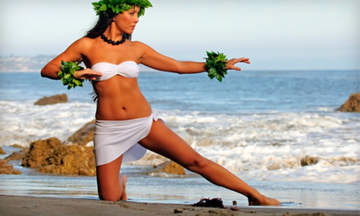 Studio Silhouette - Berryessa: 5, 10, or 20 Hula and Tahitian Dance-Fitness Classes at Studio Silhouette (Up to 75% Off)