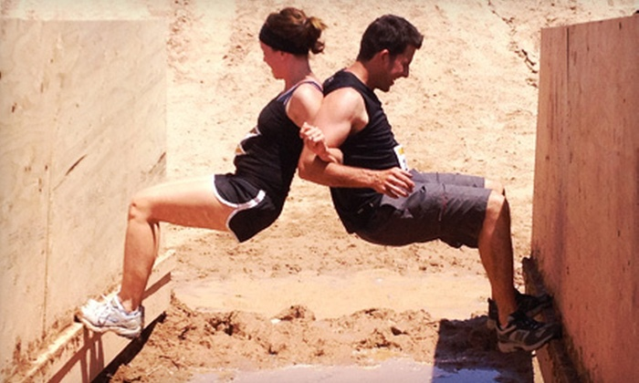 Cahoots Duo Challenge - Heber City West: $69 for Cahoots Duo Challenge Obstacle-Race Entry for Two at Soldier Hollow on August 11 from Cahoots (Up to $160 Value)