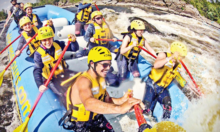Wilderness Tours - Foresters Falls: C$69 for White Water Rafting Trip for One with Lunch from Wilderness Tours in Beachburg (C$135 Value)