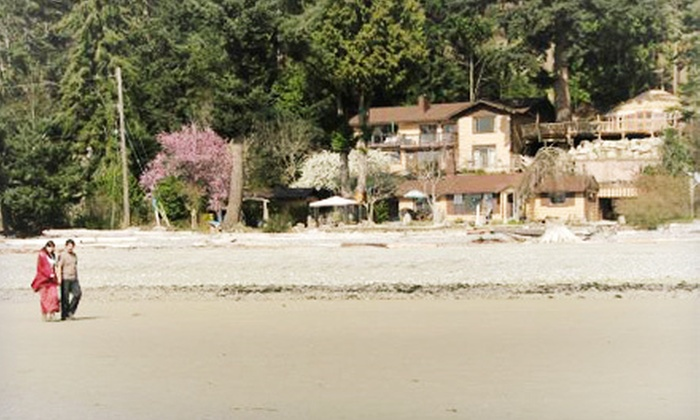 Halfmoon Haven Beachfront Retreat & Spa - Halfmoon Bay: $299 for a Two-Night Stay for Up to Four People with One Massage at Halfmoon Haven Beachfront Retreat & Spa (Up to $607 Value)