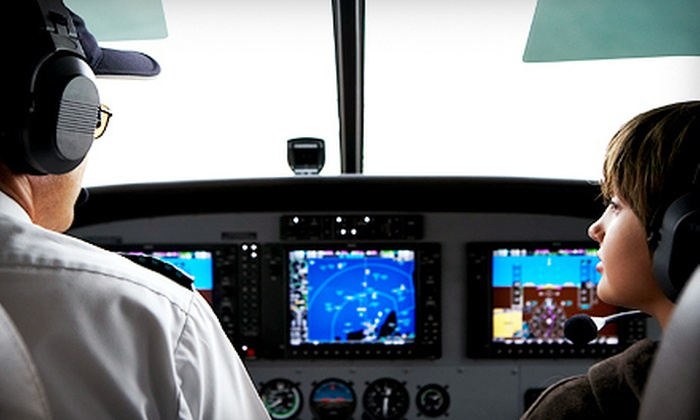 Global Aviation Corp. - Farmingdale: Adult Aviation Ground Courses or Kids' Summer Aviation Camp at i in Farmingdale (Up to 60% Off)