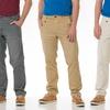 Seven7 Flat Front Twill Basic Pants