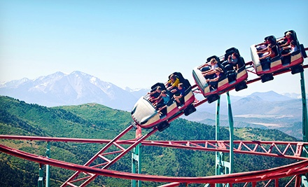 Four one-day FunDay Passes - Glenwood Caverns Adventure Park in Glenwood Springs
