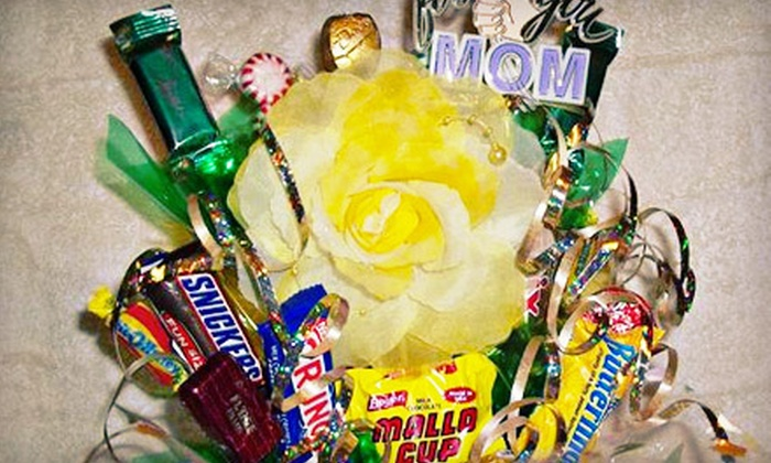 Edin's Candy Bouquet - Forney: Small or Large Candy Bouquet at Edin's Candy Bouquet (52% Off)