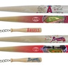 "MLB 18"" Signature and Stadium Mini-Bats Set with Keychain"