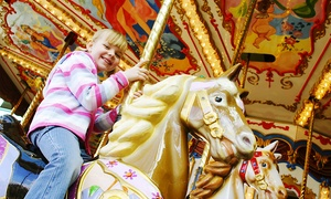 M&D's Theme Park: Soft Play Entry with Carousel Ride and Meal for Two Children at M&D's Theme Park (50% Off)