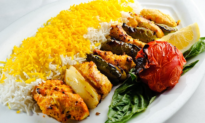Middle eastern and persian food arya global cuisine for 1001 nights persian cuisine groupon