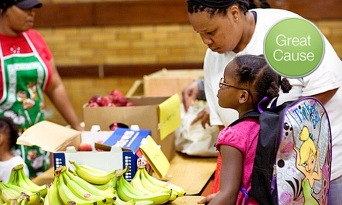 Greater Chicago Food Depository: $10 Donation to Help Provide Families with Produce